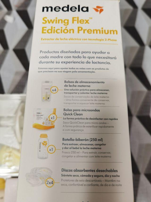 Sacaleches Medela Swing Flex. Edición Premium.