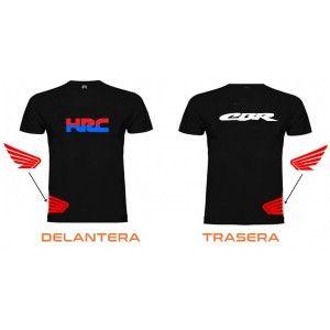 camiseta para moto honda cbr hrc oferta