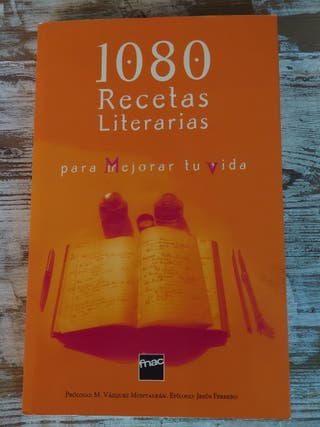 1080 Recetas Literarias / Fnac / Regalo!