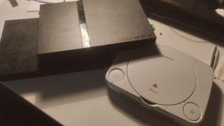 Lote 4 consolas Playstation. Ps1 y ps2