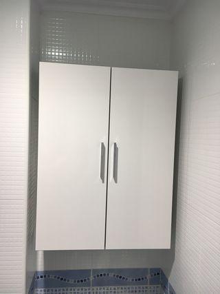 Muebles armario auxiliar baño