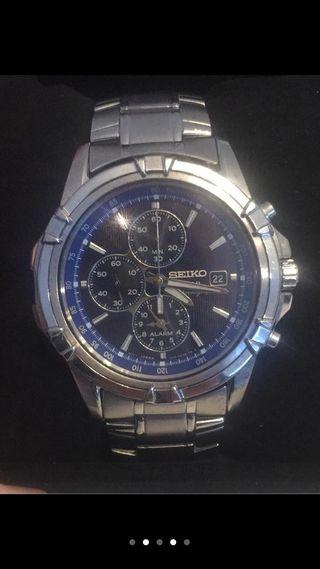 Reloj Seiko Chronograph Solar