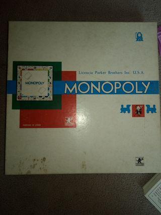 monopoly antiguo años 70