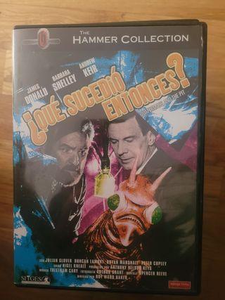 Que sucedió entonces? película dvd