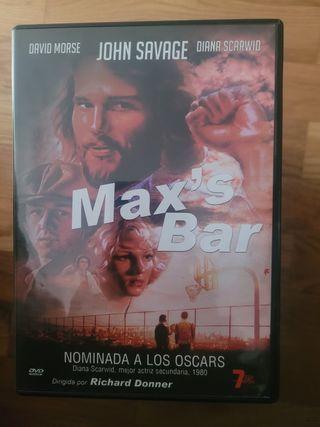 Max's Bar. película dvd