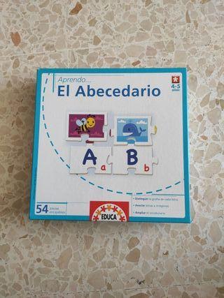 Puzzle del abecedario