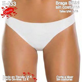 Braga Bikini Corte a Laser sin Costuras Oferta