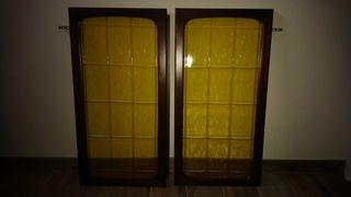 Puertas (Ventanas) de cristal años 70