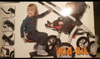 kid sit patinete para niño.
