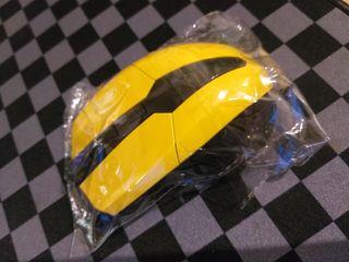 raton amarillo nuevo sin cable