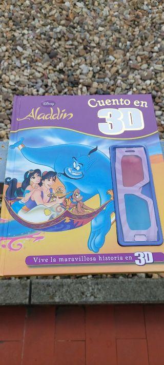 Aladdin cuento en 3D