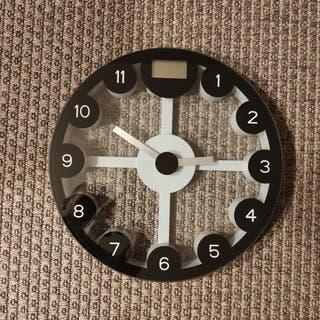Báscula-reloj baño