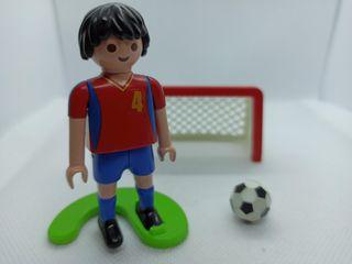 Jugador de fútbol de España de playmobil