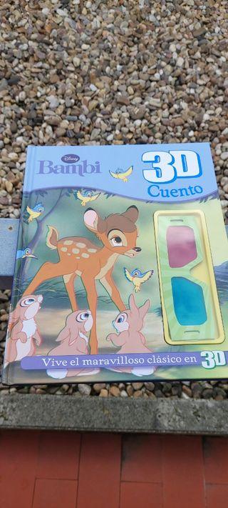 Bambi cuento en 3 D