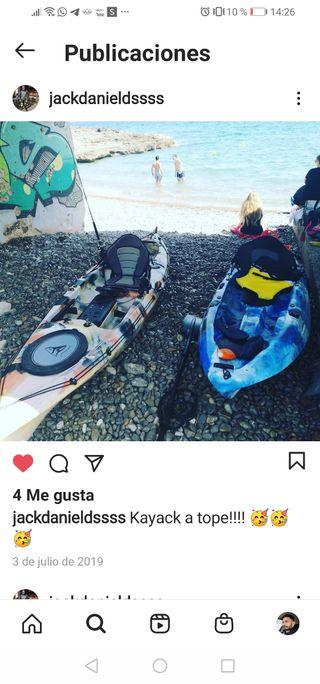 kayak laboran vendo o cambio kayak doble pesca
