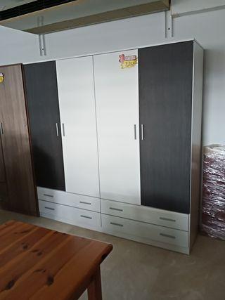 OFERTA armario 4 puertas