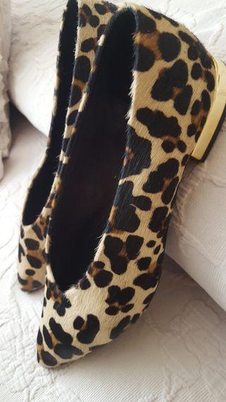 bailarinas animal print leopardo.