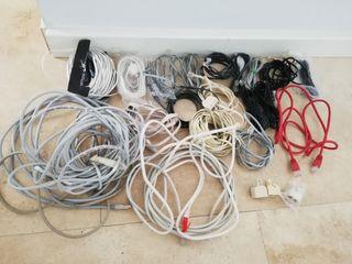 Cables teléfono y RDSL