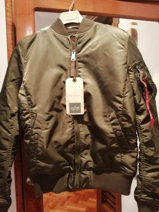 BOMBER CAQUI ALPHA INDUSTRIES