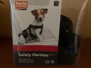 Cinturón seguridad para perro mediano