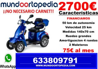 MOTO MAYORES SCOOTER ELECTRICO MINUSVALIDOS