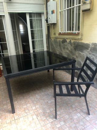 Mesa de patio + Sillas - ¡¡Urge venta!!