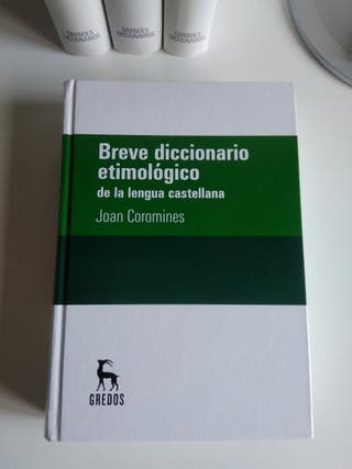 Diccionario etimológico