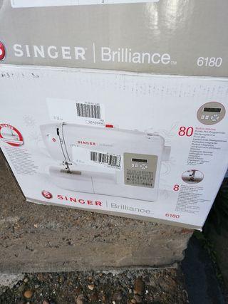 máquina de coser singer brillance 6189 sin pedal