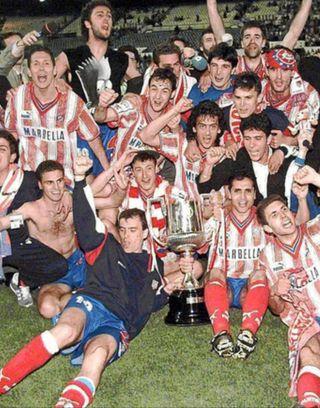 Camiseta Atlético de Madrid 95-96 Copa del Rey
