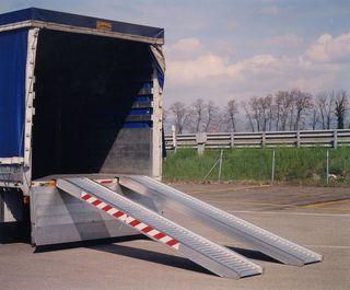 Rampas de aluminio para camion furgoneta remolque