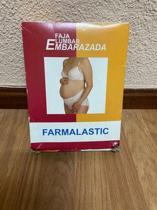 Faja lumbar embarazo farmalastic