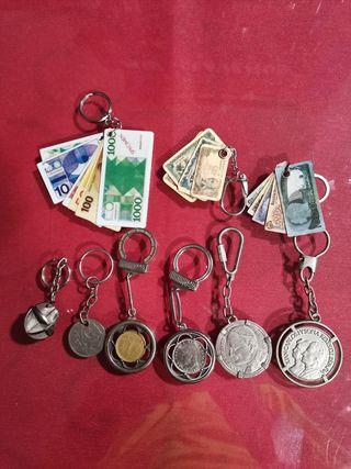 colección monedas/billetes antiguas.