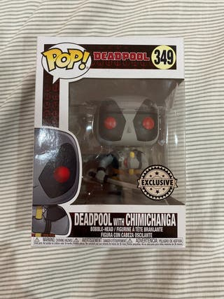 Deadpool With Chimichanga Funko Pop