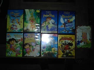 LOTE DVD'S INFANTILES