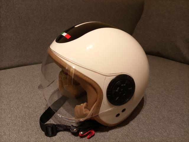 casco moto Jet. T M