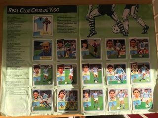 Album cromos Liga 89-90 Ediciones Este