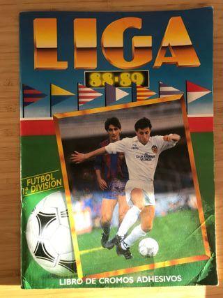 Album cromos Liga 88-89 Ediciones Este