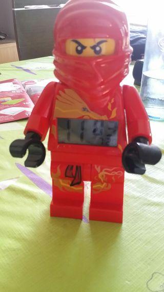 reloj despertador Ninjago