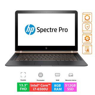 """HP Spectre Pro 13 G1 - i7 - 8GB - 512GB - 13.3""""FHD"""