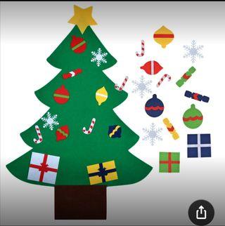 Fieltro árbol de Navidad
