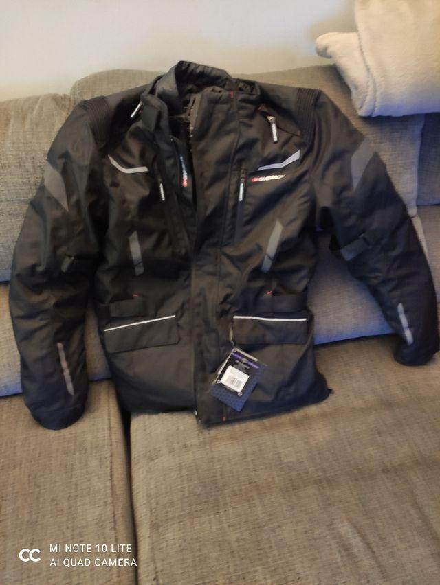 chaqueta de moto garibaldi