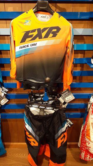 Equipo Motocross FXR Niño