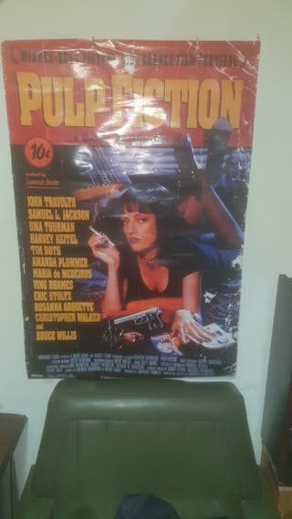 cartel publicitario fiction