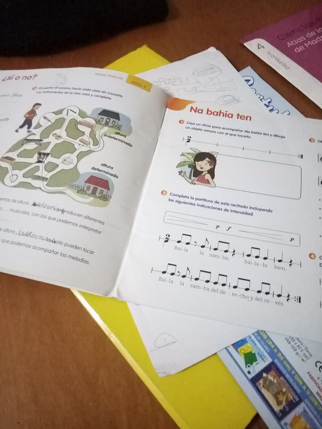 libros de musica cuarto de primaria