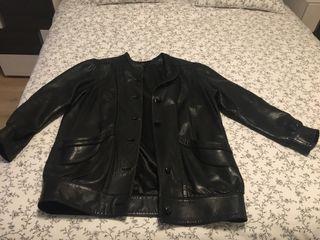 Chaqueta cuero negro talla M/L