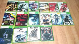 Juegos Xbox 360 y Xbox One