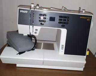 Máquina de coser Singer Pfaff Passport Line 2.0