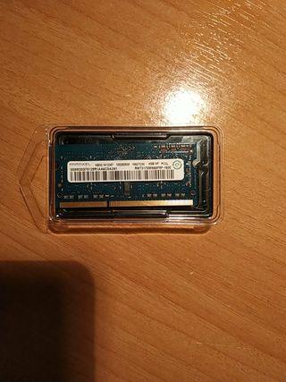 Memoria RAM 4GB.