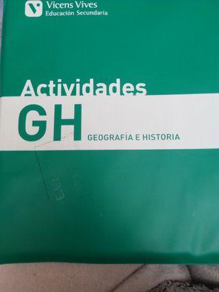 Actividades Geografía e historia 3