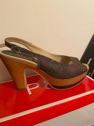 Zapatos MiMao tacón ancho